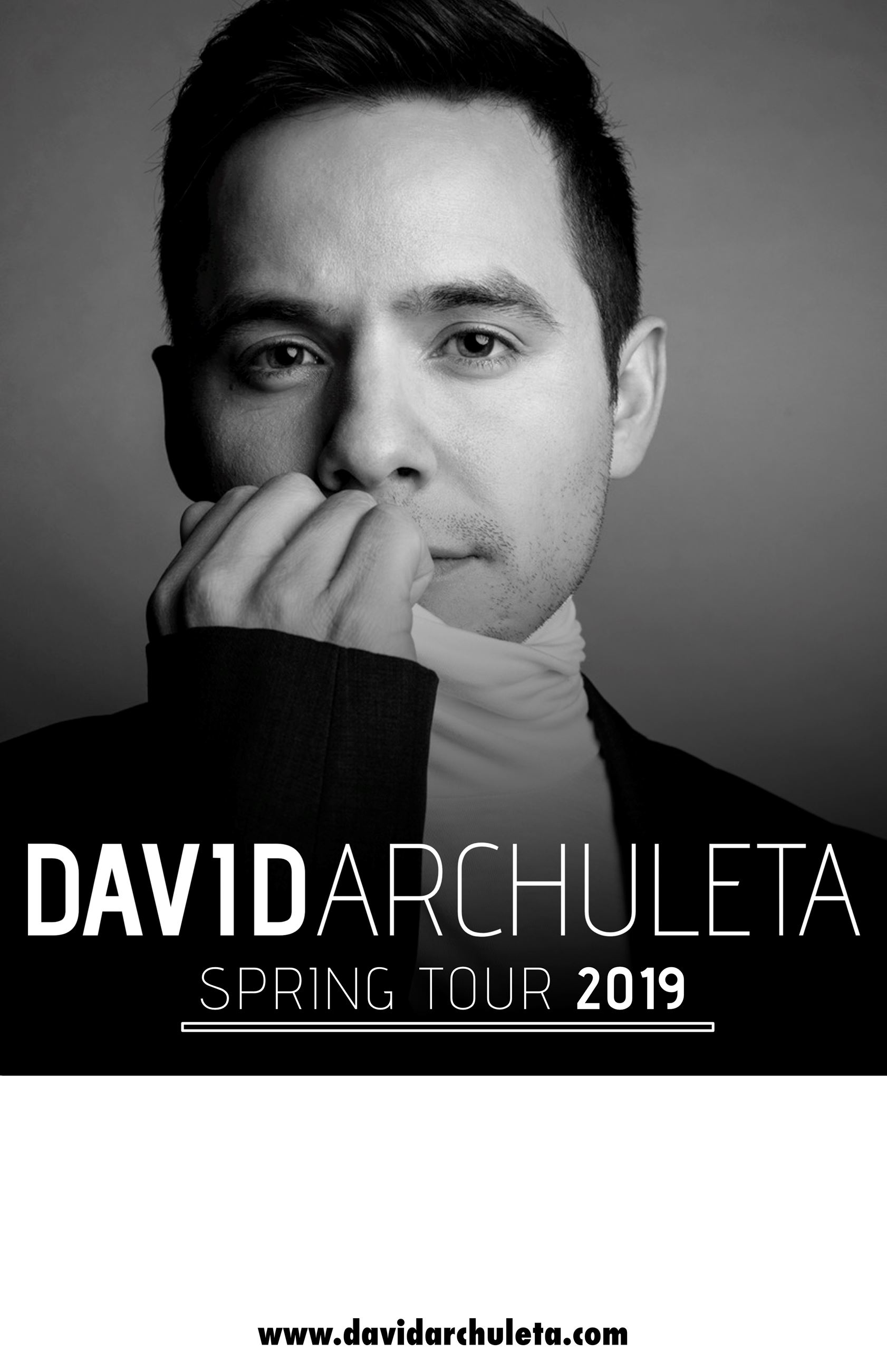 DAVID ARCHULETA - Admat, spring tour (FINAL)