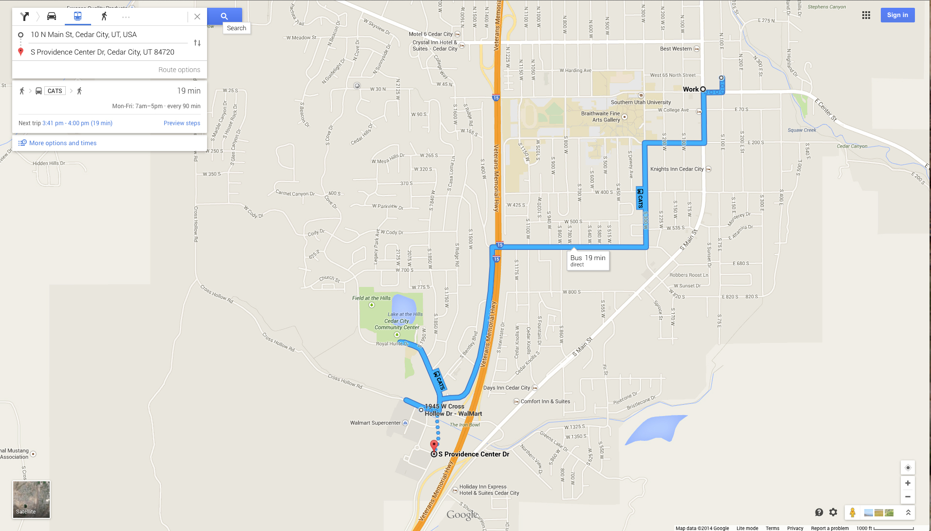 Plot route on google map / Watch canal viva online